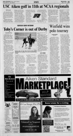 Aiken Standard, May 04, 2011, Page 21