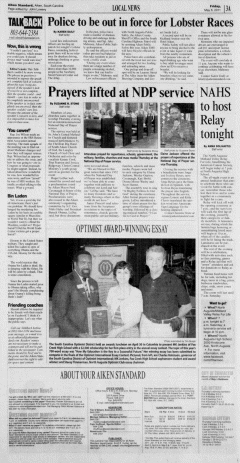 Aiken Standard, May 06, 2011, Page 3