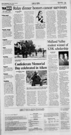 Aiken Standard, May 11, 2011, Page 3