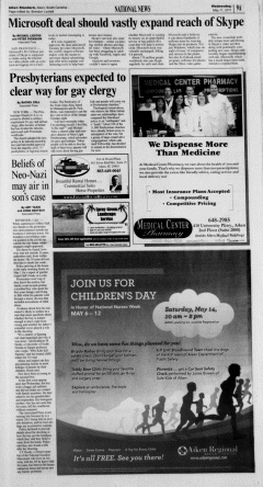 Aiken Standard, May 11, 2011, Page 9