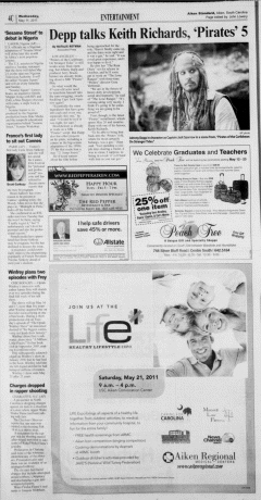Aiken Standard, May 11, 2011, Page 26