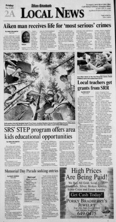 Aiken Standard, May 13, 2011, Page 4