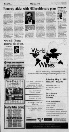 Aiken Standard, May 13, 2011, Page 16