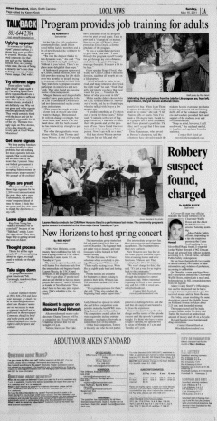 Aiken Standard, May 15, 2011, Page 3