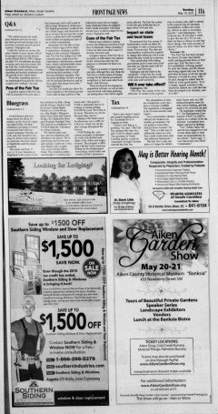 Aiken Standard, May 15, 2011, Page 11