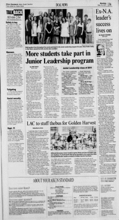Aiken Standard, May 16, 2011, Page 3