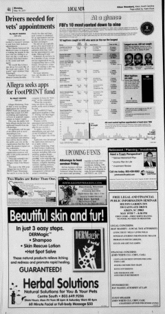 Aiken Standard, May 16, 2011, Page 4