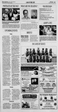 Aiken Standard, May 16, 2011, Page 25
