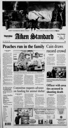 Aiken Standard, May 19, 2011, Page 1