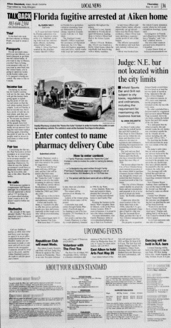 Aiken Standard, May 19, 2011, Page 3