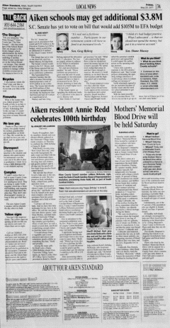 Aiken Standard, May 20, 2011, Page 3