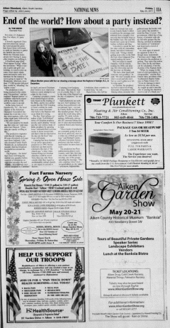 Aiken Standard, May 20, 2011, Page 11