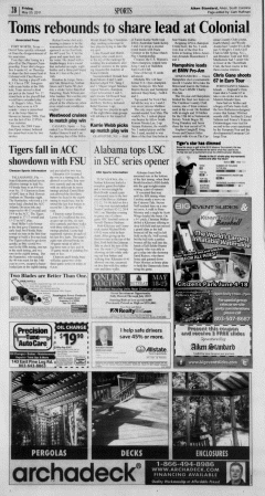 Aiken Standard, May 20, 2011, Page 18