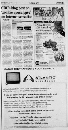 Aiken Standard, May 21, 2011, Page 11