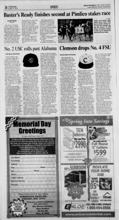Aiken Standard, May 21, 2011, Page 14
