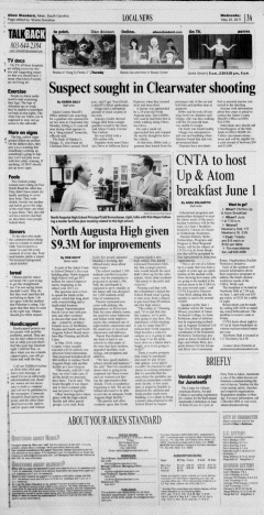 Aiken Standard, May 25, 2011, Page 3