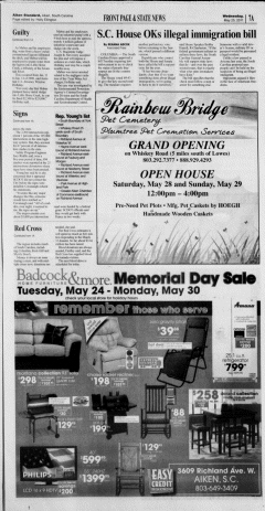 Aiken Standard, May 25, 2011, Page 7