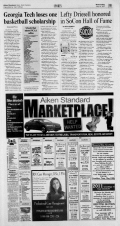 Aiken Standard, May 25, 2011, Page 21