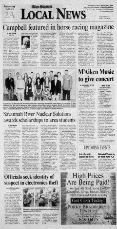 Aiken Standard, May 28, 2011, Page 2