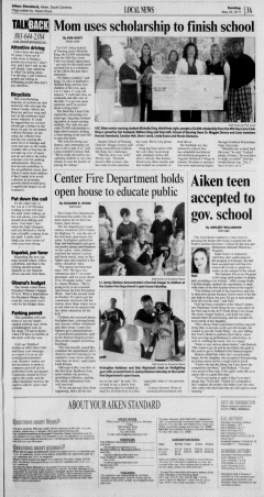 Aiken Standard, May 29, 2011, Page 3