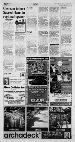 Aiken Standard, May 31, 2011, Page 16