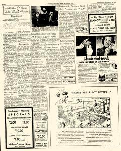 Florence Morning News, February 20, 1952, Page 6