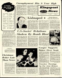 Kingsport News, January 09, 1971, Page 1