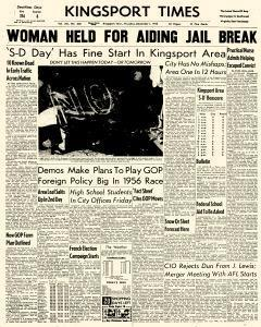 Kingsport Times, December 01, 1955, Page 1