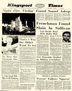 Kingsport Times, October 06, 1967, Page 1