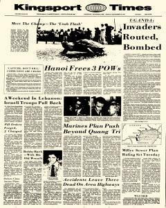 Kingsport Times, September 18, 1972, Page 1