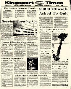 Kingsport Times, November 10, 1972, Page 1