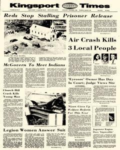 Kingsport Times, March 01, 1973, Page 1