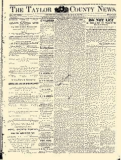 Abilene Daily Reporter, February 20, 1891, Page 1