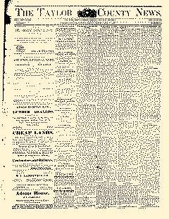 Abilene Daily Reporter, August 07, 1891, Page 1