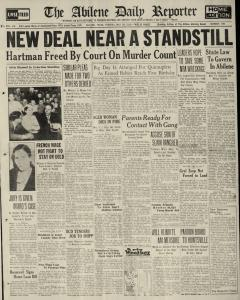 Abilene Daily Reporter, May 28, 1935, Page 1