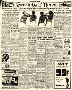 Abilene Daily Reporter, August 06, 1935, Page 4