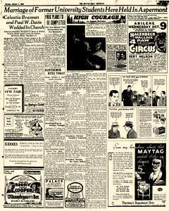 Abilene Daily Reporter, October 07, 1935, Page 3