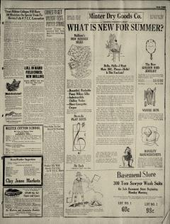 Abilene Morning Reporter News, May 01, 1927, Page 3