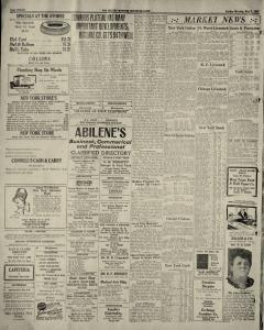 Abilene Morning Reporter News, May 01, 1927, Page 12