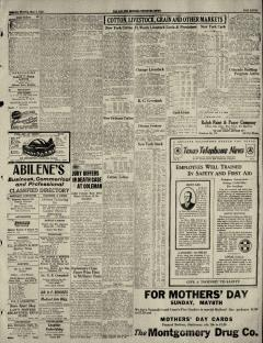 Abilene Morning Reporter News, May 08, 1927, Page 11