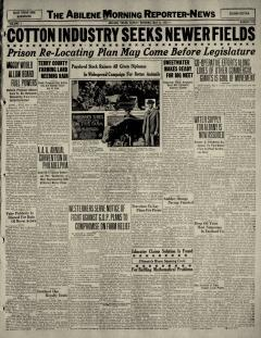 Abilene Morning Reporter News, May 08, 1927, Page 13