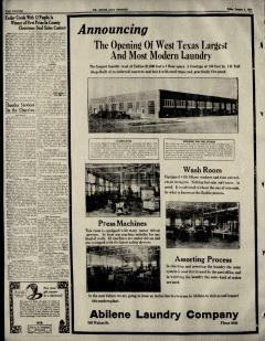 Abilene Morning Reporter News, January 06, 1929, Page 30