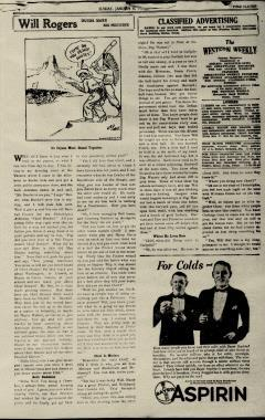 Abilene Morning Reporter News, January 06, 1929, Page 36