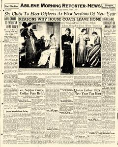 Abilene Morning Reporter News, January 03, 1937, Page 11