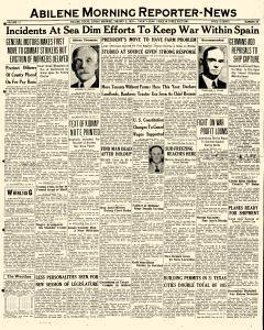 Abilene Morning Reporter News, January 03, 1937, Page 1