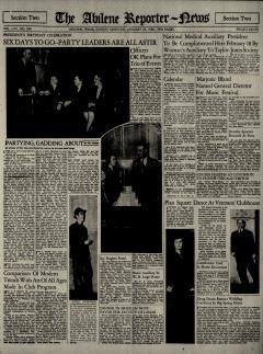 Abilene Reporter News, January 23, 1938, Page 13