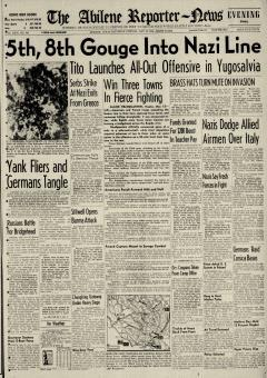 Abilene Reporter News, May 13, 1944, Page 3