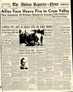 Abilene Reporter News, May 18, 1944, Page 1