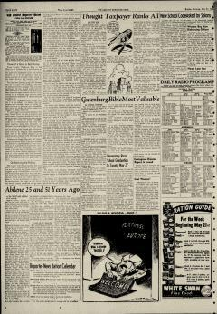Abilene Reporter News, May 21, 1944, Page 22