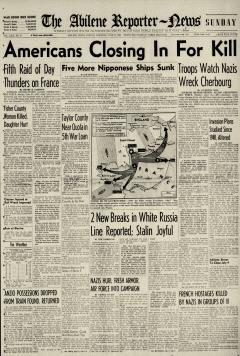 Abilene Reporter News, June 25, 1944, Page 4
